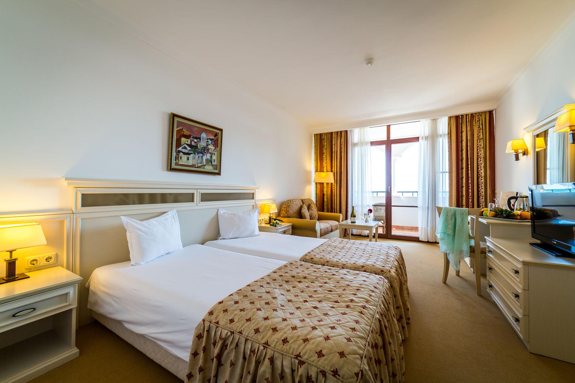 Луксозни хотели в България на брега на морето